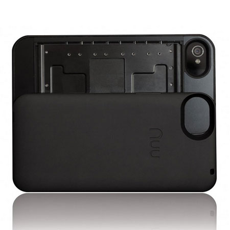 Nuu Mini-Key Keyboard Case for iPhone 4S / 4