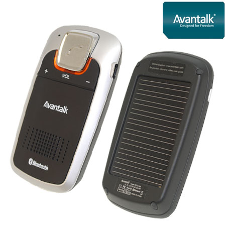Larger image of avantalk sundaypro solar handsfree bluetooth car kit