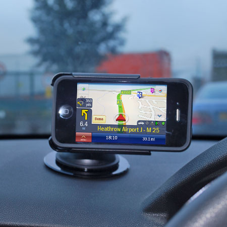 Kit: In Car Phone Holder for Large Phones