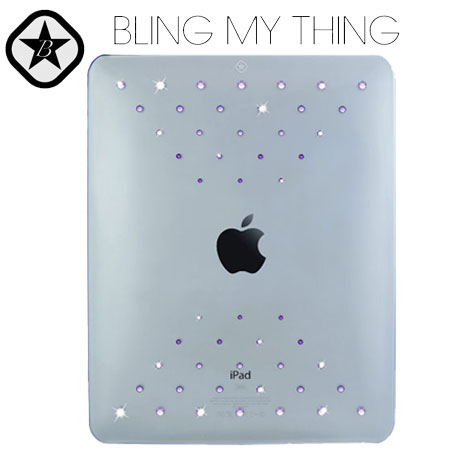 Bling My Thing Case for iPad - Escape Pink Mix