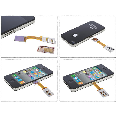 iphone 4 without sim card slot micro sim adapter and stand for iphone 4s 4 19296