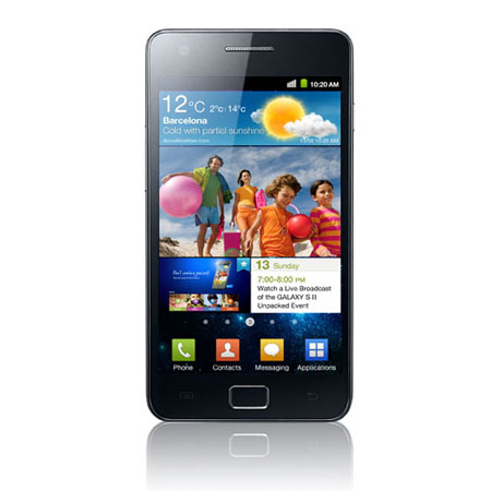 Sim Free Samsung Galaxy S2 i9100 - 16GB Black