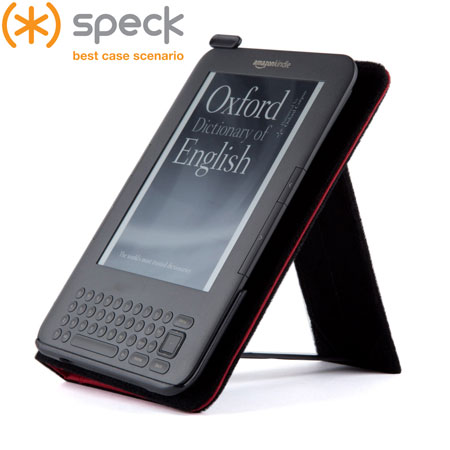 Speck DustJacket for Amazon Kindle Keyboard - Red