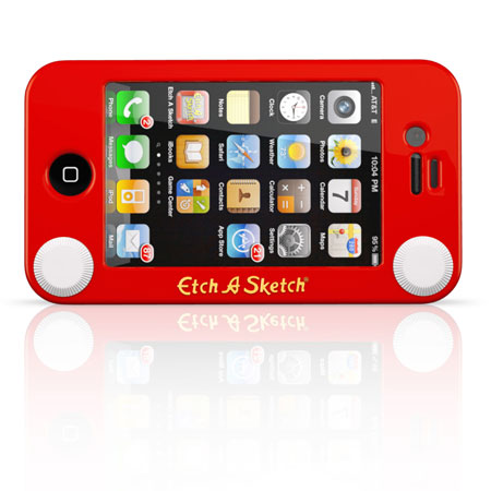 Etch A Sketch Case for iPhone 4S / 4