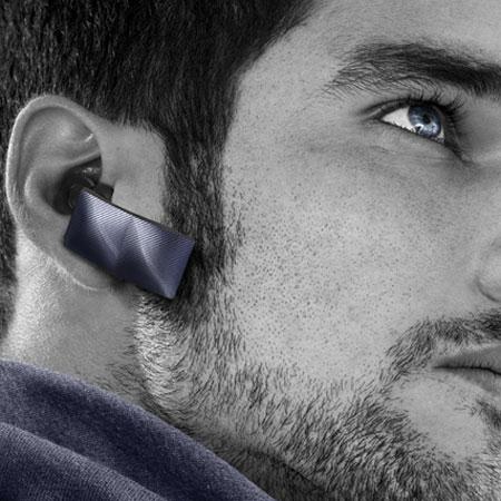 Jawbone ICON Earwear Bluetooth Headset Denim