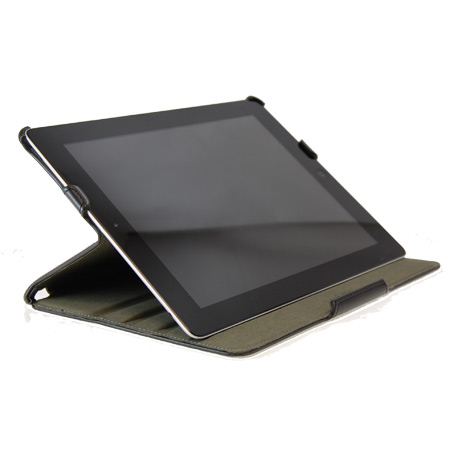 Xqisit Book Case With Desk Stand - iPad 2