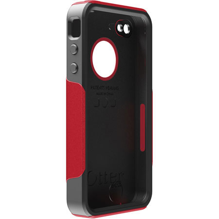 san francisco c1f77 95d25 OtterBox For iPhone 4 Commuter Series Hybrid - Red/Black