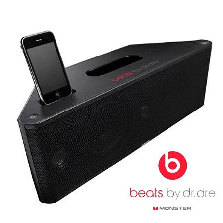 monster beats by dr dre beatbox ipod speaker dock