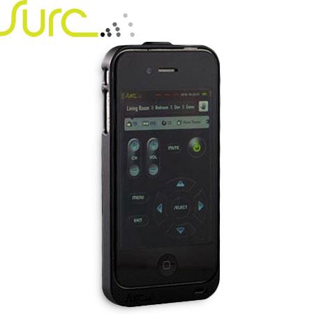 Surc Universal Remote Case for iPhone 4S / 4 - Black