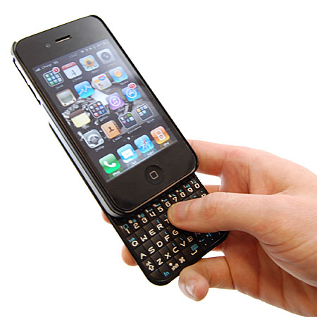iphone keyboard case keytech vertical keyboard for iphone 4 11977