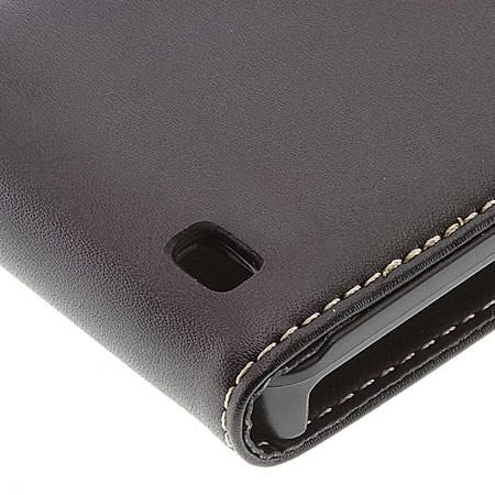 Genuine Samsung Galaxy S2 i9100 Moulded Leather Flip Case