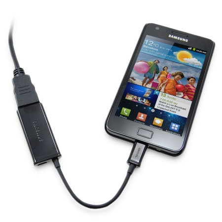 how to connect samsung galaxy s2 to tv