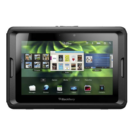 Flexishield Skin for Blackberry Playbook - Solid Black