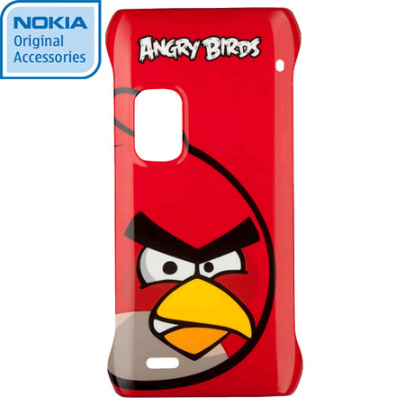 Nokia CC-5001 Angry Birds Hard Cover for E7 - Red Bird