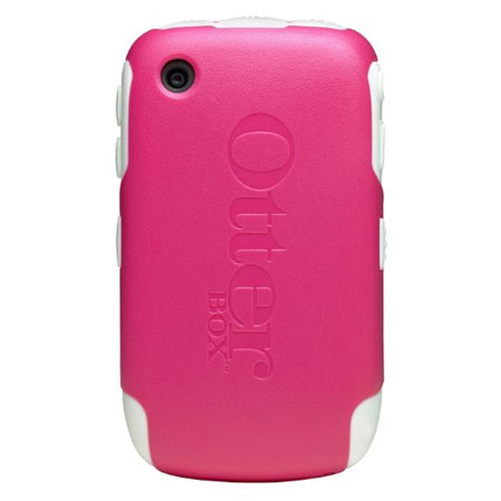 OtterBox Commuter Case for Blackberry Curve 8520/8530 - Pink/White