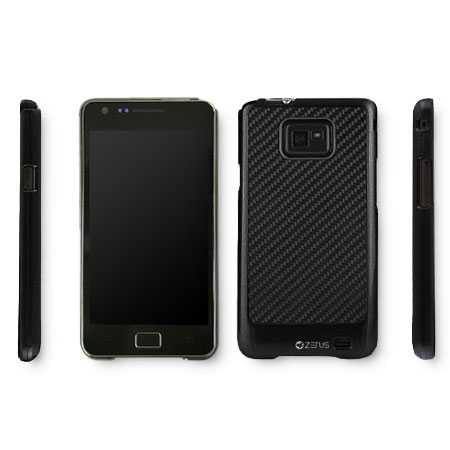 Zenus Skin Air Jacket Series for Samsung Galaxy S2 i9100 - Black