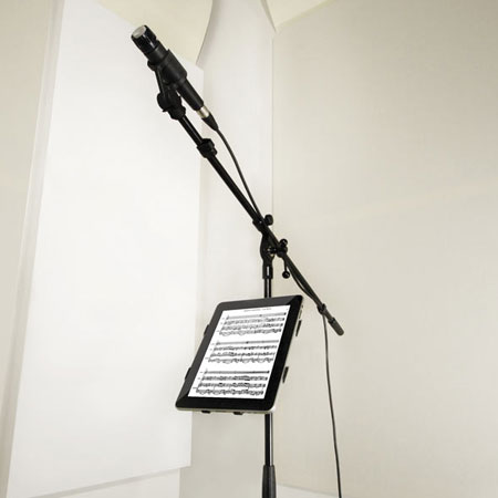 IK Multimedia iKlip Universal Microphone Stand Adapter for iPad 2