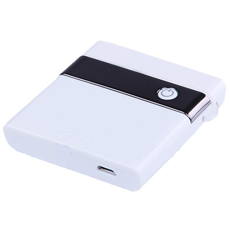 Momax Portable Battery Charger 1200mAh - Micro USB - White