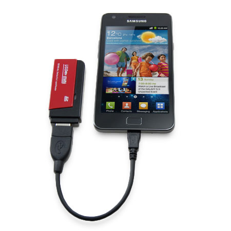 OTG Micro USB to USB Converter for Samsung Galaxy Phones