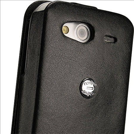 Noreve Tradition A Leather Case for HTC Wildfire S - Black