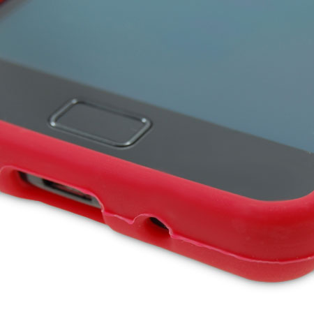 Flexishield Samsung Galaxy S2 i9100 Silicone Gel Case- Red