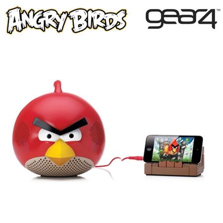 Gear4 Angry Birds Speaker - Red Bird
