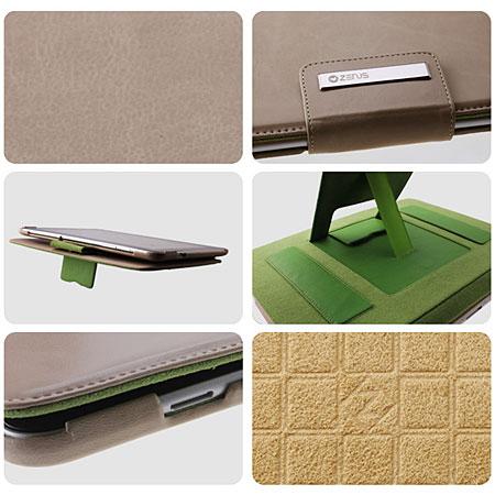 Zenus Masstige Basic Band Series for Samsung Galaxy Tab 10.1 - Beige