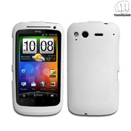 ToughGuard Shell HTC Desire S - White