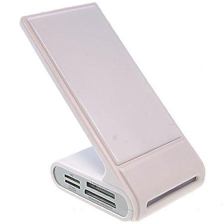 Desk Genie Non-Slip Charging Desk Stand - White