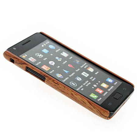 Samsung Galaxy S2 Wood Design Hard Case - Light Wood