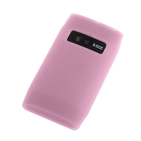 Silicone case for Nokia X7 - Pink