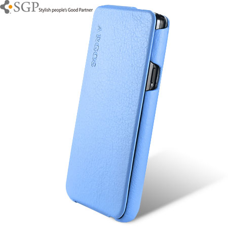 brand new cc9fa 9fb5c SGP Argos Series Leather Case for Samsung Galaxy S2 - Blue
