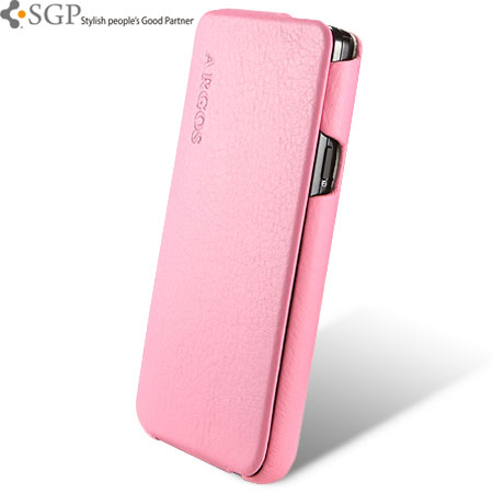 info for 1133b ec4c6 SGP Argos Series Leather Case for Samsung Galaxy S2 - Pink
