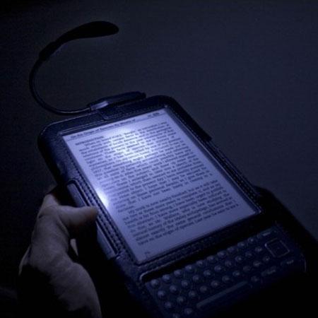 Tuff-Luv Night Bright Spark Clip-On LED Reading Light - Black