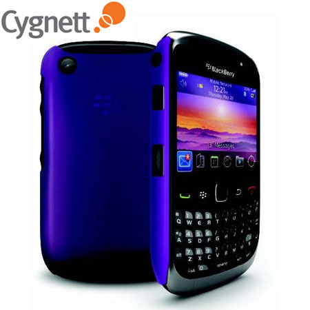 best service 3e1a0 6f496 Cygnett Frost Slim Hard Case for BlackBerry Curve 8520/9300 - Purple