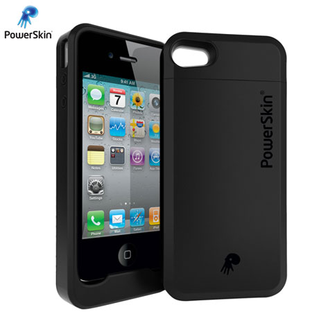 powerskin extended battery case for iphone 4s 4. Black Bedroom Furniture Sets. Home Design Ideas