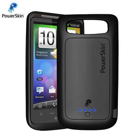 best website 110e1 eac7e PowerSkin Extended Battery Case for HTC Desire HD