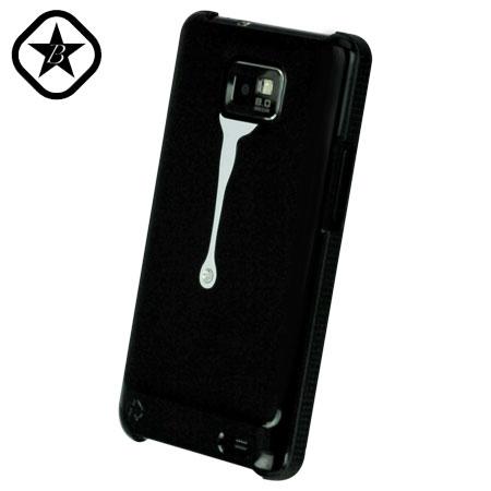 Bling My Thing Samsung Galaxy S2 SPLASH! Hard Case - Black