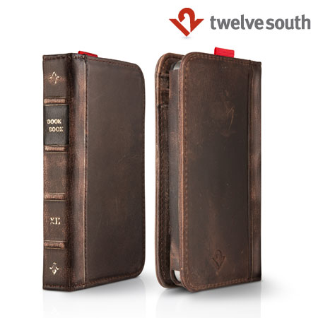 Twelve South BookBook Case for iPhone 4S / 4 - Brown