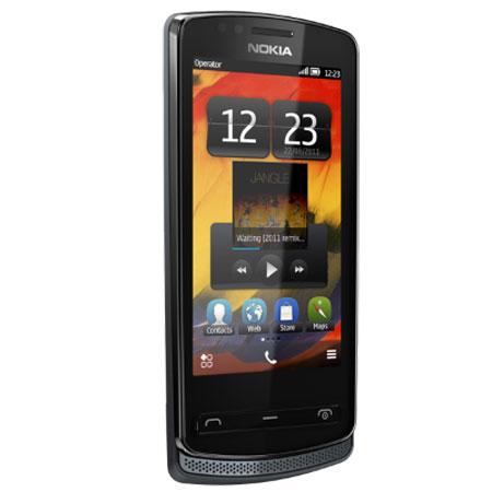 Sim Free Nokia 700 - Cool Grey