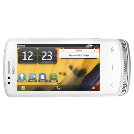 Sim Free Nokia 700 - Silver White