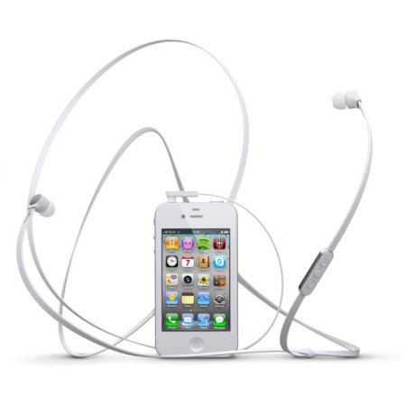 a-Jays Four Heavy Bass Impact Hands-free - iPhone & iPod Touch - White