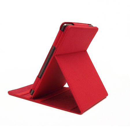 SD TabletWear LuxFolio Amazon Kindle Case - Red
