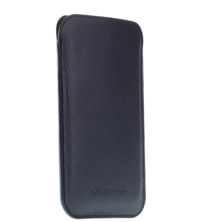 Pochette de transport officielle Samsung Galaxy Note EFC-1E1LBECSTD - Bleue