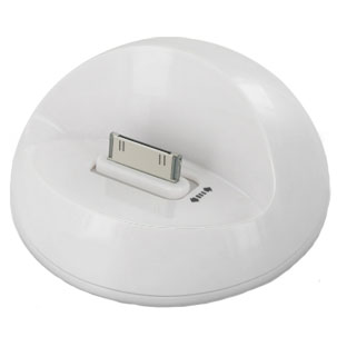 iPhone 4S / 4 Curved Dock - White