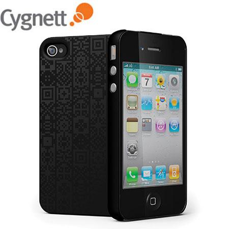 Cygnett Arcade Snap-On Case For iPhone 4S / 4 - Black