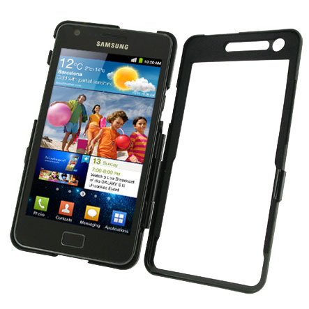 PDair Aluminium Case For Samsung Galaxy S2 - Black