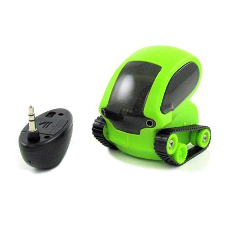 Tanque Robot controlado mediente Apps de la marca DeskPets - Verde