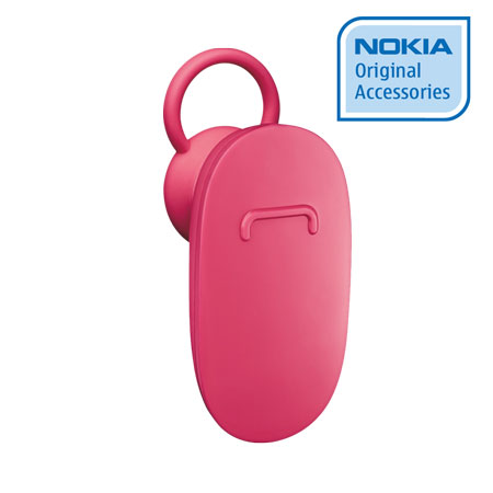 Nokia BH-112 Bluetooth Headset - Fuchsia