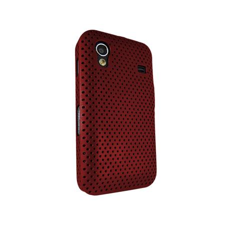 Genuine Samsung Galaxy Ace Mesh Vent Case - Red